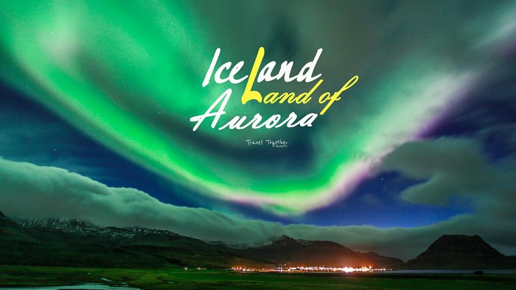 [[[ Iceland land of Aurora ]]] แสงเหนือฉบับขี้เกียจ ไม่ต้องออกตามหา เพราะส่องลงมาถึงหน้าบ้าน