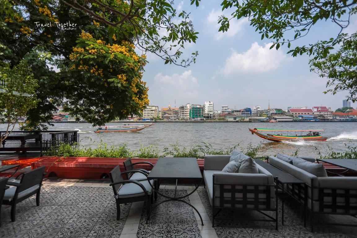 [[[NYE Cafestaurant]]] ร้านอาหารไทยฟิวชั่น ริมแม่น้ำเจ้าพระยา