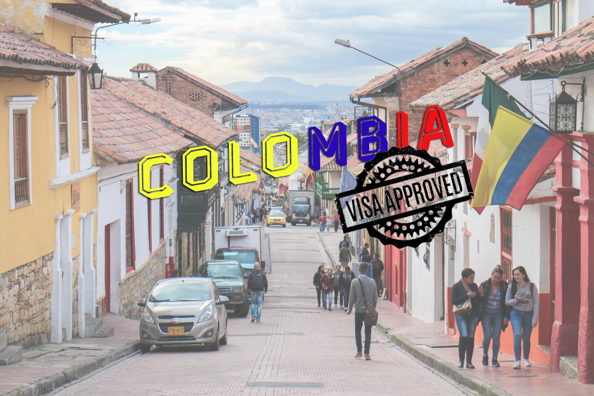 Colombia Visa ขั้นตอนการขอวีซ่า 2018