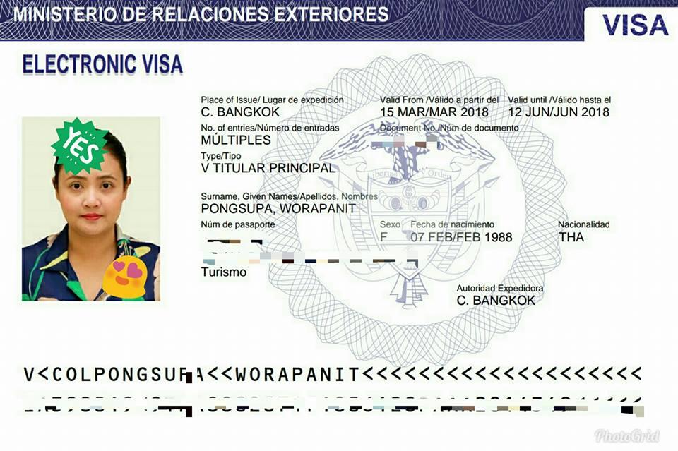 Colombia Visa