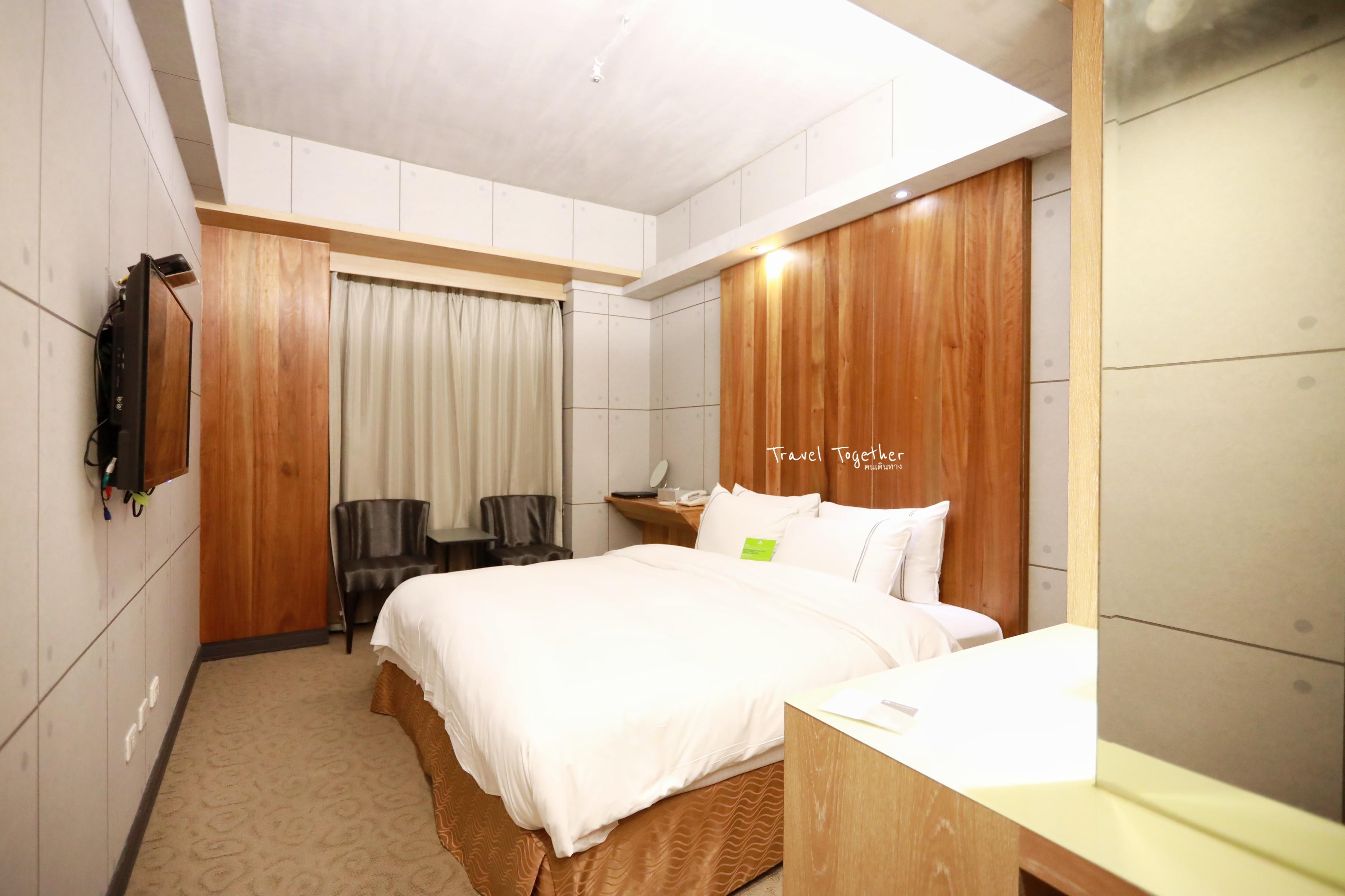 ที่พัก Taichung ต้อง Le Parker Hotel ทำเลดี ราคาโดน ใกล้แหล่งช้อปปิ้ง