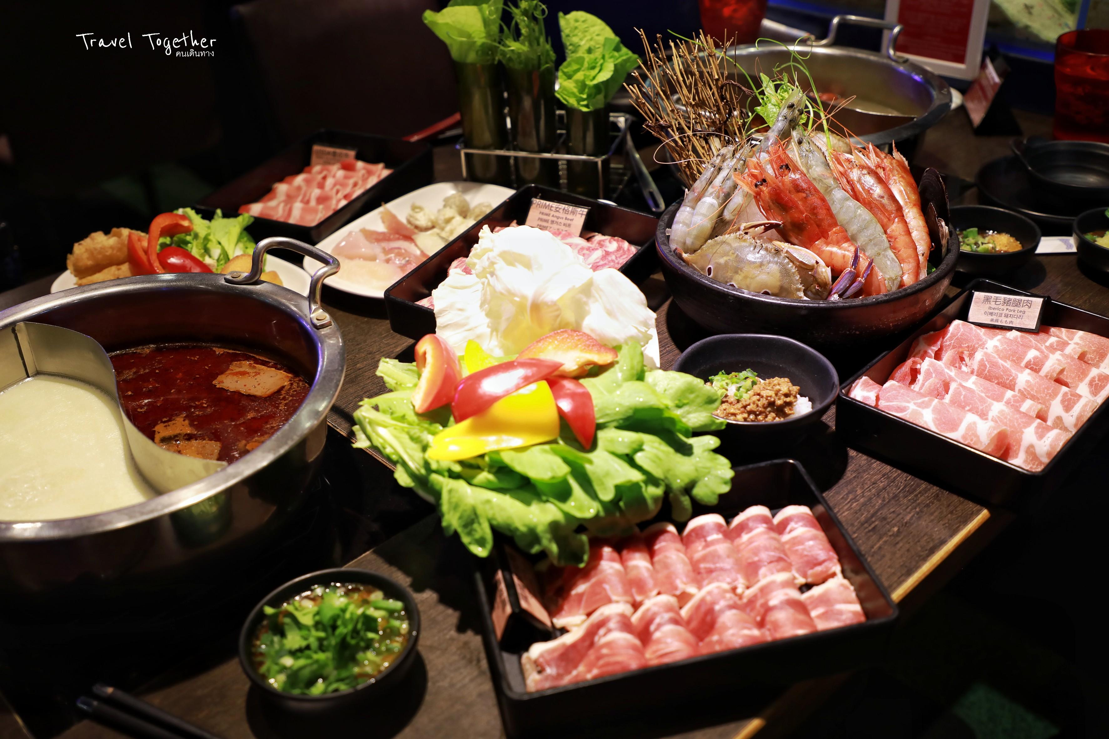 บุฟเฟ่ต์ชาบูไต้หวัน Hakkai Shabu Shabu อร่อย คุ้ม และสดมาก