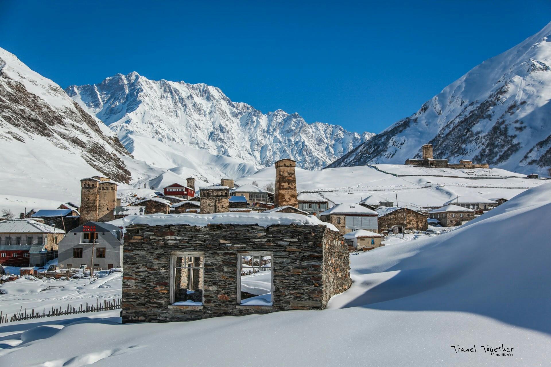 ความงามของ Ushguli ชุมชนมรดกโลก และหมู่บ้านที่สูงสุดที่สุดในทวีปยุโรป
