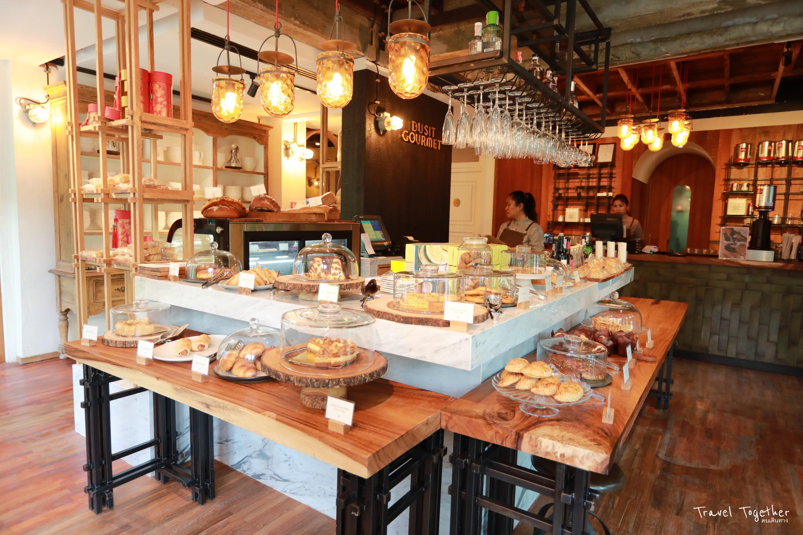 Dusit Gourmet คาเฟ่ที่บ้านดุสิตธานี บรรยากาศดี ย้อนวันวาน ย่านสีลม