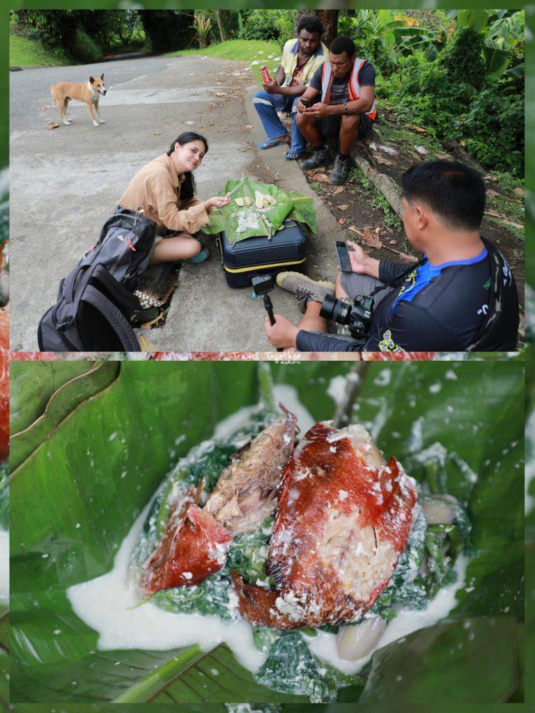 อาหารท้องถิ่น PNG