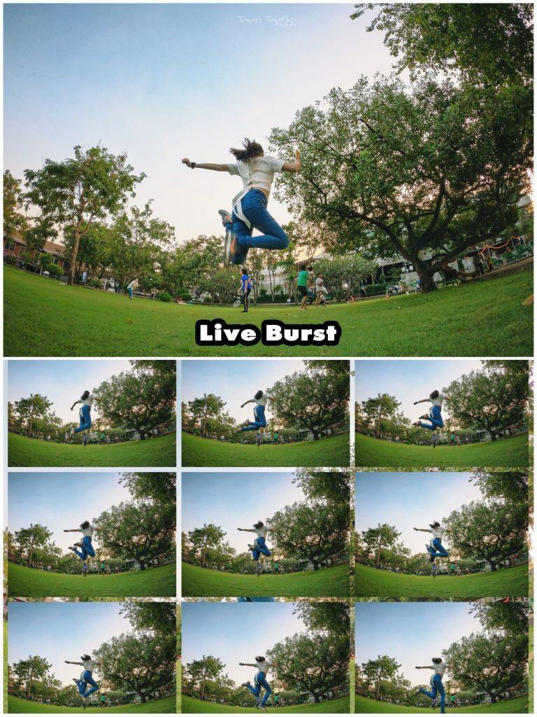 Live Brust GoPro Hero 8